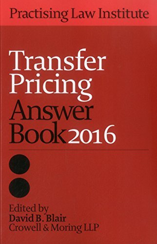 Transfer Pricing Answer Book 2016 (2016-04-01)