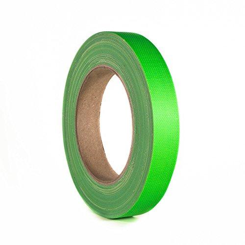 ah Accesorios 58064 GRN Gaffer cinta de 19 mm x 25 m de neón verde