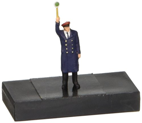 PLATFORM DISPATCHER - PREISER HO SCALE MODEL TRAIN FIGURES 28002 by Preiser