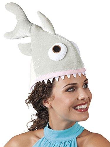 Für Tiere Lustige Kostüm - Hut Weißer Hai