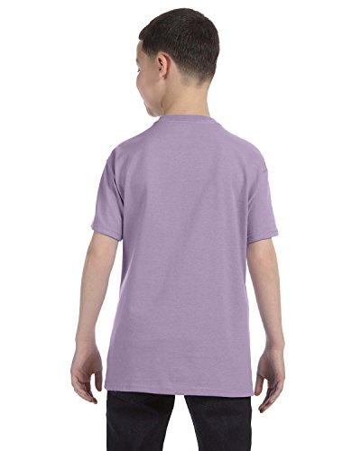 Hanes Youth 6.1 oz Tagless T-Shirt Lavender