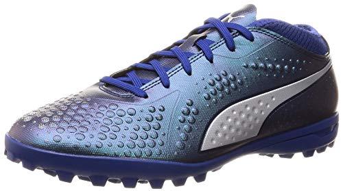 Puma Herren ONE 4 SYN TT Fußballschuhe, Blau (Sodalite Blue Silver-Peacoat 03), 43 EU