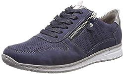 Jenny Damen Sapporo 2252403 Sneaker, Blau (Indigo, Titan 70), 42 EU
