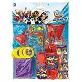 Amscan International 397337DC Super Hero Mädchen Mega Mix Value Favour Pack