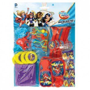 Amscan International – 397337 DC Super Hero Girls Mega Mix Confezione