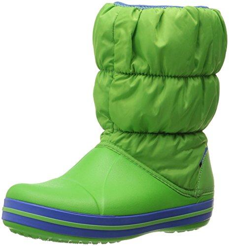 crocs-winter-puff-boot-kids-botas-de-material-sintetico-infantil-lime-sea-blue-367-28-29