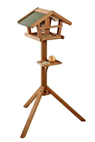 BUSDUGA – Vogelhaus / Futterhaus aus Holz mit Futtersilo 121 x 45 x 30cm , sehr leichter Aufbau - 2