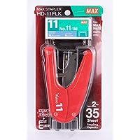Max Hd-11Flk-Rd Max Vaimo 11 Zımba Makinesi No: 11Tel Hediyeli, Kırmızı