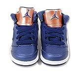 Jordan Jordan440890-416 - Nike Air 5 Retro Bt Obsidian 440890-416, Kinder, Bronze Baby Jungen, Blau (Obsidon/White-Gold), 25 EU M Kleinkind
