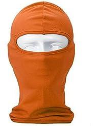 De plein air Fantaisie Cagoule Couvre-chef Masque pour le cyclisme,le ski,le snowboard, Orange