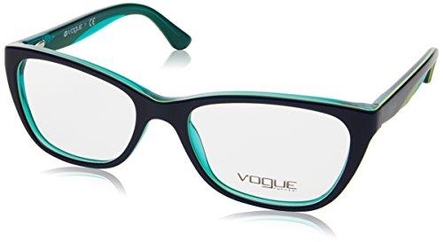 Vogue - VO 2961, Rechteckig, Acetat, Damenbrillen, BLUE YELLOW AQUA(2311), 51/17/135