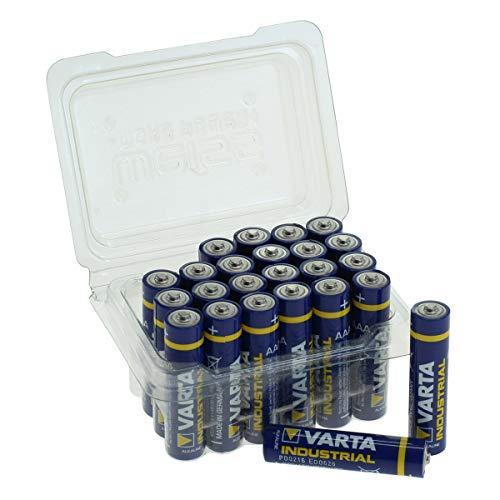 Varta Industrial Batterie AAA Micro Alkaline Batterien LR03-24er Box, Made in Germany Alkaline-batterie-box