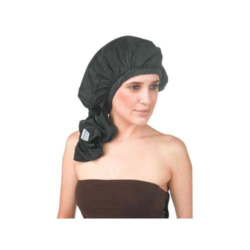 Sibel - Bonnet Permanente Flexi Fermeture Velcro Noir