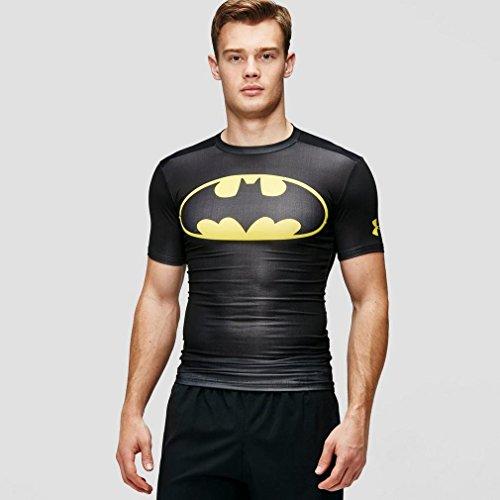 Under Armour Alter Ego Compression Short Sleeve Batman Funktionstshirt (Under Armour Punisher)