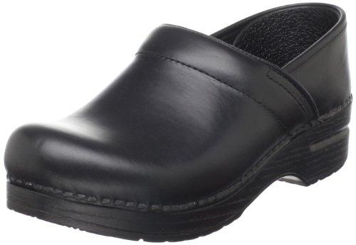 Dansko Professional Damen Schwarz Leder Pantoletten Schuhe Neu EU 36 (Dansko Damen Schuhe)