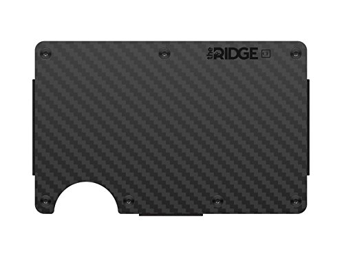 The Ridge Wallet Carbon Cash Strap | Geldband | Geldbörse | Slim | RFID sicher
