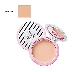 Avon Simply Pretty Shine no More SPF 14 Pressed Powder 11g - Almond