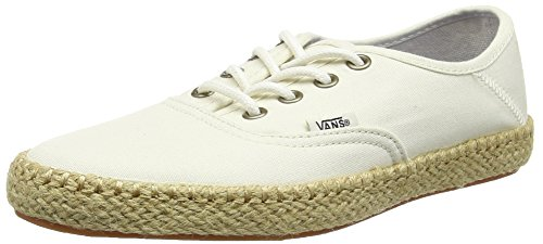 Vans Authentic Esp, Baskets Basses Femme Blanc (Classic White)