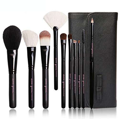 AA-SS-Makeup Brush Maquillage Professionnel Pinceaux de Maquillage Fondation Kabuki Mélange Pinceaux Correcteur Ensembles avec Trousse à cosmétiques
