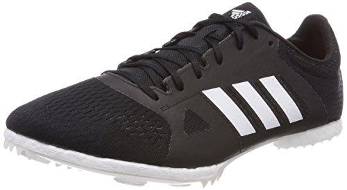 adidas Adizero MD, Scarpe da Atletica Leggera Unisex-Adulto, Nero (Negbás/Ftwbla/Naalre 000), 41 1/3 EU