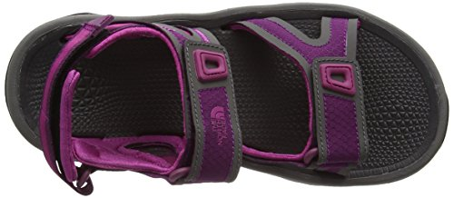 The North Face W Hedgehog II, Sandales de sport femme Multicolore (Pamplona Purple/fuschia Pink)