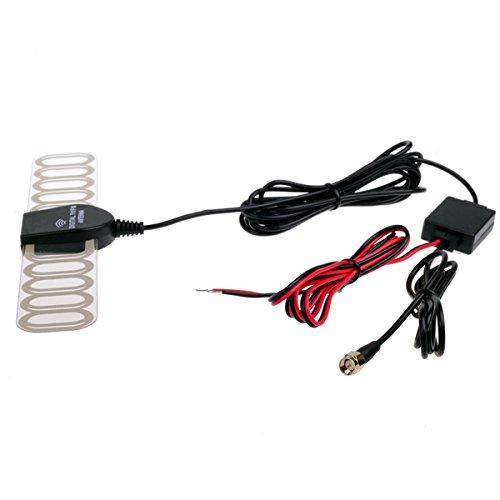 Amplificador de la señal de la antena de radio FM, para TV digital, analógica de coche, TV DVBT ATSC ISDB, amplificador para estéreo, reproductor de DVD para coche