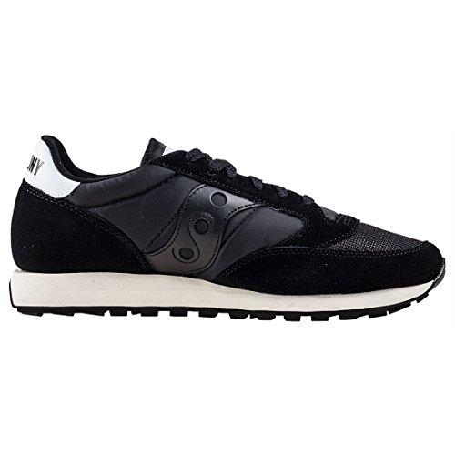 Saucony Herren Jazz Original Vintage Black/White 810 Sneaker, Schwarz Schwarz