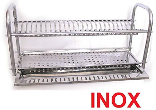 Égouttoir à vaisselle 60 cm à Poser inox made in italy