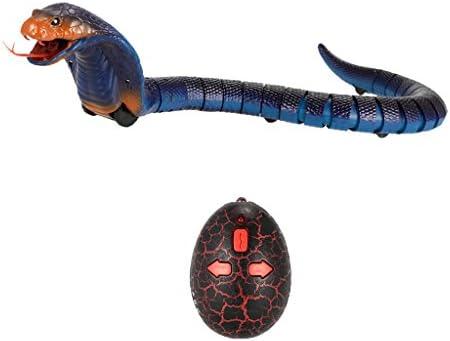 KESOTO 17 '' Réaliste Infrarouge TélécomFemmede Serpent Cobra Rc Jouet pour Les  s - Bleu | Des Technologies Sophistiquées