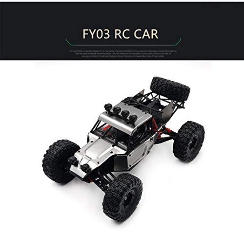 TianranRT❄ Fy03 1:12 Maßstab 2.4G 4Wd Hochgeschwindigkeits-Offroad-Rock Crawler Rc-Car (Grau)