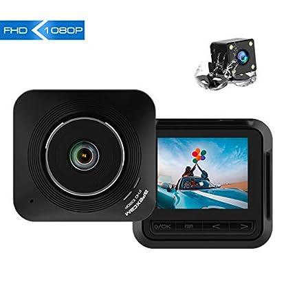 Apexcam-Dashcam-Front-und-Rck-Lens-Fahr-Recorder-22-IPS-1080P-Ultra-HD-170-Weitwinkel-Auto-Kamera-G-Sensor-WDR-Loop-Aufnahme-DVR-Parkmonitor-Nachtsicht