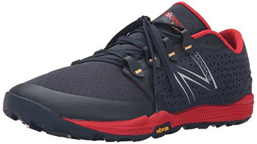 New Balance MT10BR4-Minimus, Zapatillas de Running para Asfalto para Hombre, Multicolor (Black/Red 009), 41.5 EU