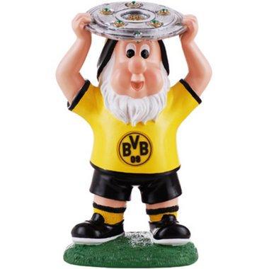 """BVB Borussia Dortmund Gartenzwerg """"Meister"""" von Cartoons4you auf Du und dein Garten"""