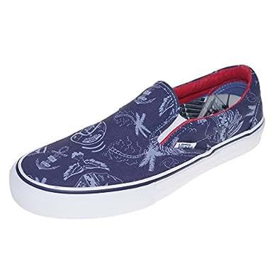 VANS Chaussures - SLIP ON PRO - Partaix Tattoo Stonewash, Taille:42.5