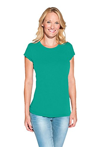 Bio T-Shirt Damen Emerald