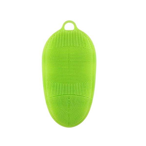 SUPVOX Cepillo Suave de Silicona Cepillo Corporal Jabón Corporal Ducha de baño Guante Exfoliante Piel SPA Masaje…