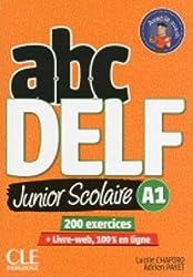 ABC DELF Junior: Livre de l'eleve A1 + DVD + Livre-web - 2eme  edition