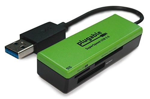 Easy-Transfer SuperSpeed USB 3.0Flash-Speicher Kartenleser für Windows, Mac, Linux, und bestimmte Android Systeme-Unterstützt SD, SDHC, SDXC, Micro SD/T-Flash, MS, MS PRO Duo, MMC, und mehr -
