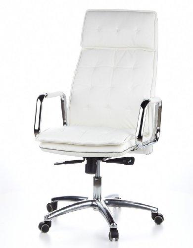 HJH OFFICE 600922 Bürostuhl / Chefsessel VILLA 20 Nappaleder elfenbein - 16