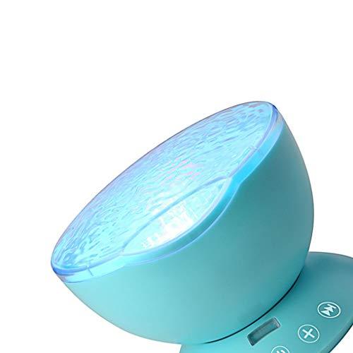 Yangge Yujum Ocean Wave-Musik-Baby-Nachtlichtprojektor Built-in Mini-Musik-Spieler-Lampe USB-Lade-LED-Licht-Kind-Raum - Wave Bad Licht