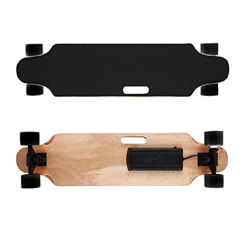 """Elektro-Longboard \""""Fun\"""", Elektro-Board, Skateboard elektrisch mit Motor, E-Longboard, E-Skateboard, E-Board, 300 Watt, 25 km/h, Fernbedienung, Produktvideo"""