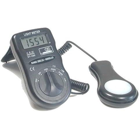 JZK® CEM DT-1300 esposimetro professionale portatile con sensore di luce
