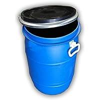 Jardin202 - Bidon de plastico con Boca Ancha de 60 litros