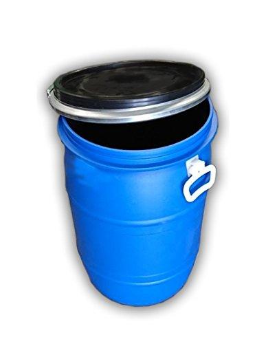 Wolfpack 10010041 Cubo Basura Plastico Comunidad con Tapa 50 litros