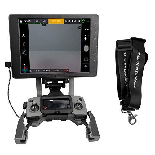 RC GearPro Faltbarer Tablet-Halter-Fernbedienungsständer mit CrystalSky-Monitor für DJI Spark/Mavic Pro/Platinum Mavic/Mavic 2 Pro/Mavic 2 Zoom/Mavic Air Drone