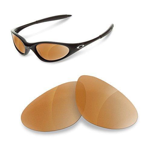 sunglasses restorer Kompatibel Oakley Minute 1.0 Wechselgläser (Polarisierte Brown Gläser)