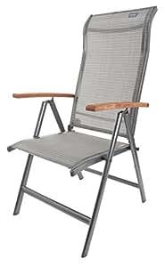canterbury gartenstuhl klappstuhl mit holz armlehne sport freizeit. Black Bedroom Furniture Sets. Home Design Ideas