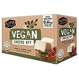 Kit di Formaggio Vegano - 3,6 kg   Attrezzatura ed Ingredienti   Mozzarella, Halloumi, Ricotta, Feta