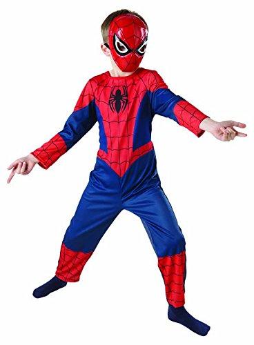 Rubie's IT887696-L - Ultimate Spiderman Classic Costume, in Scatola, Taglia L