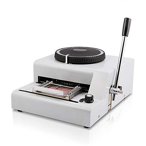 ägecode-Maschine Manuelle Bronzing-Maschine für PVC-Karten-Prägemaschine für alle Arten von Kreditkarten-VIP-Karten ()